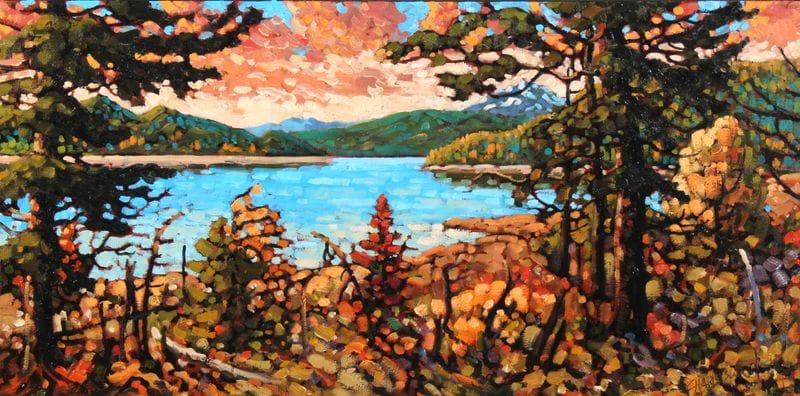 Upper Arrow Lake, October