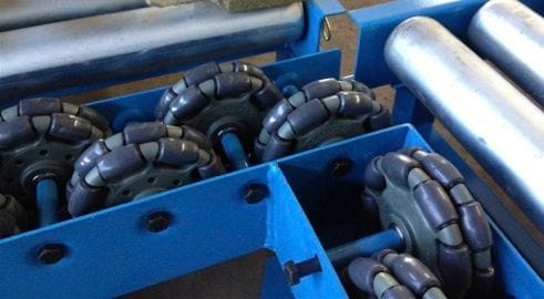 Rotacaster Solutions - Pallet Transfer Table