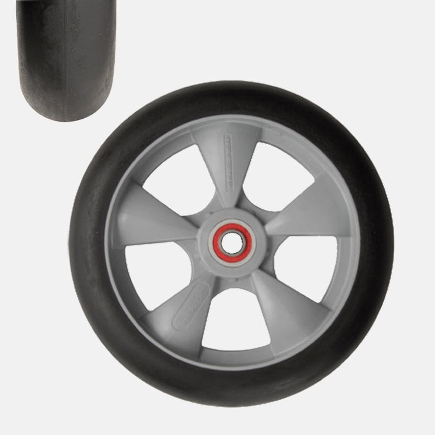 Wheel, 250x50mm, Microcellular Foam, Puncture resistant,