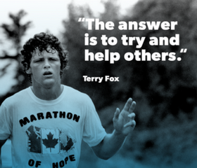 Team Up for the Terry Fox Run
