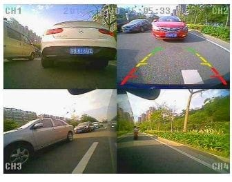 360 Blind Spot Camera System