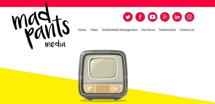 Website Launched for Mad Pants Media