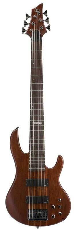 LD-6NS: LTD D-6 NS 6 STRING ACTIVE BASS