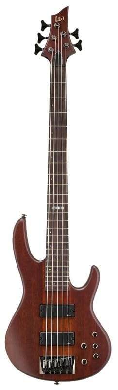 LD-5NS: LTD D-5 NS 5 STRING ACTIVE BASS