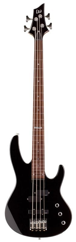 LB-50FLBLK: LTD FRETLESS B SERIES BASS BLACK 4 STR