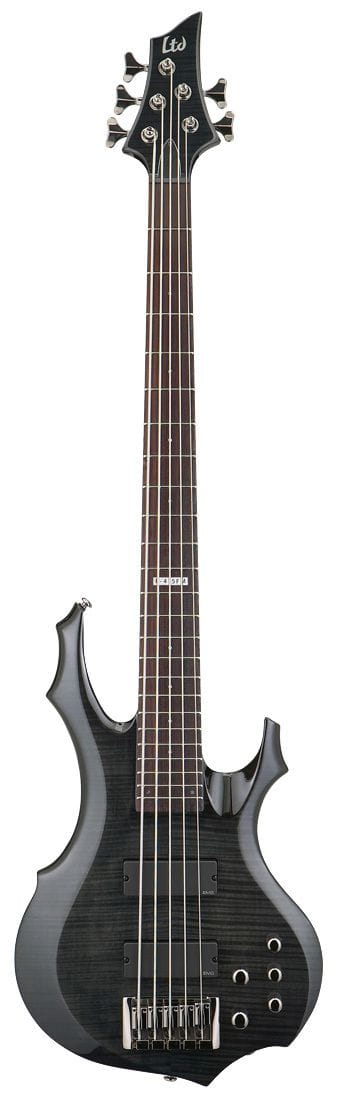 LF-415FM 5 STRING BASS W/EMGS SEE THRU BLACK