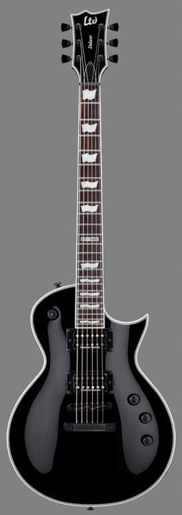 LEC-1000SBLKD: LTD EC-1000S BLACK HARDWARE WITH DUNCAN PICKUPS