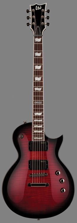 LEC-330FMSTBCSB: LTD EC-330FM FLAME TOP BLACK CHERRY SUNBURST