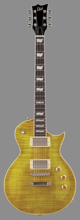 LTD EC-256FM ECLIPSE FLAME TOP LEMON DROP