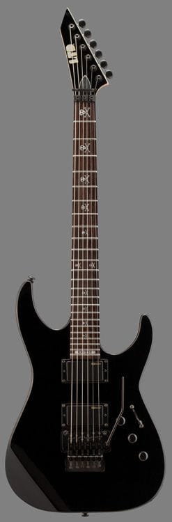 LKH-330BLK: LTD KH-330 KIRK HAMMETT WITH ESP ACTIVE PICKUPS
