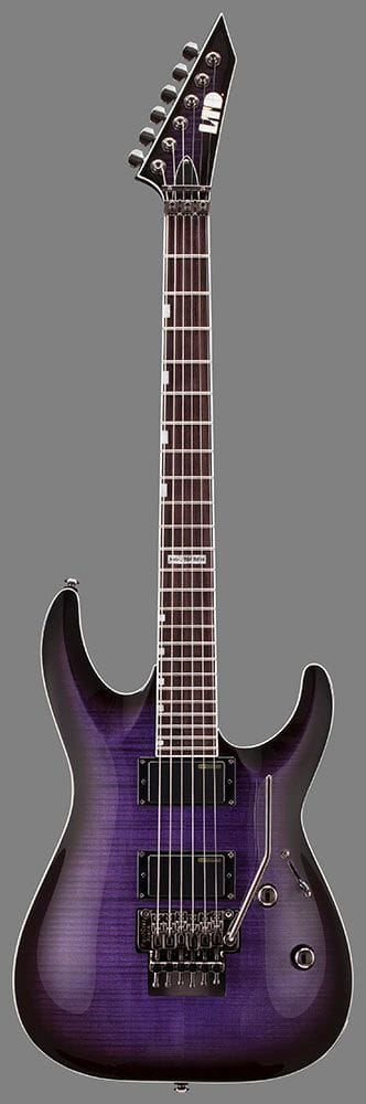 LMH-330FRPRSB: LTD BOLT NECK FLOYD ACTIVE P/U PURPLE SUNBURST