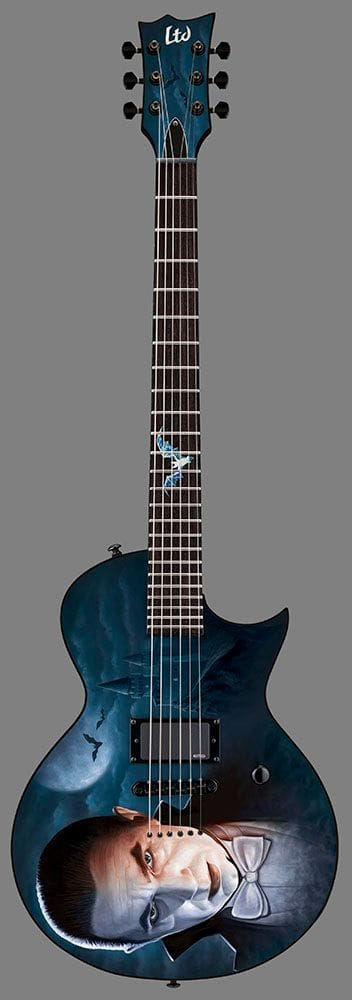 L-DRACULA: LTD GRAPHIC BELA DRACULA GUITAR