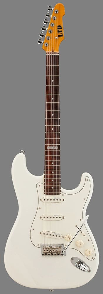 LST-213ROW: LTD ST-213 ROSEWOOD NECK OLYMPIC WHITE