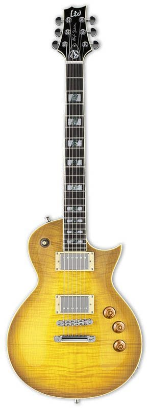 LAS-1FMLB: LTD ALEX SKOLNICK SIGNATURE FLAME LEMON BURST