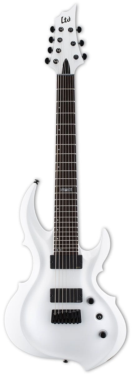 LFRX-407SW: LTD FRX-407 7 STRING WHITE ELECTRIC GUITAR