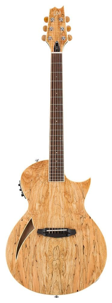 LTL-6SMNAT: LTD TL-6 TRANDUCER ELECTRIC 6 STRING GUITAR WITH SPALTED MAPLE TOP