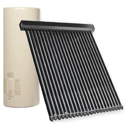 Apricus Glass Lined Solar hot water systems