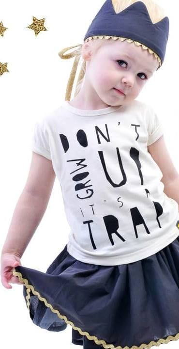 Rock Your Kid - Don't Grow Up Tee