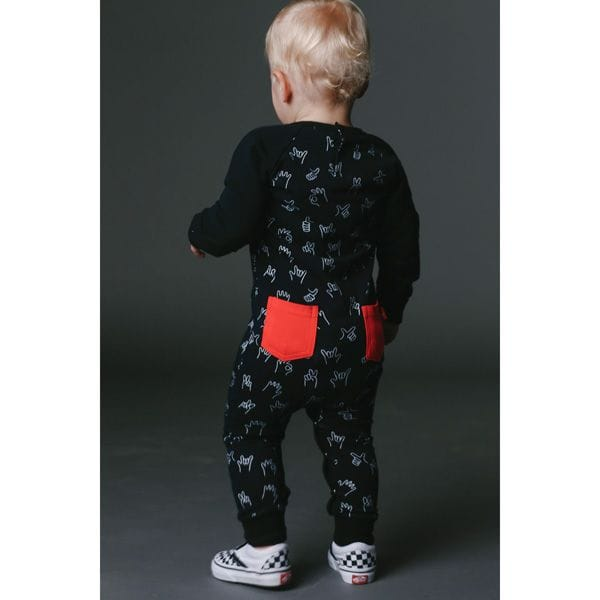 Rock Your Baby - Hunky Dory Playsuit
