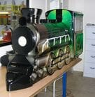 Vacuumed formed Train for gaming machine