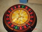 Vacuumed formed roulette wheel