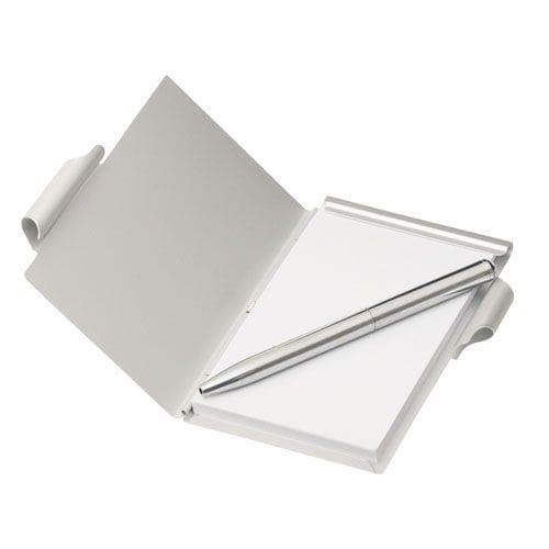 Aluminium Pocket Note Pad With Pen