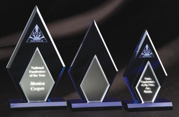 Acrylic Award Diamond