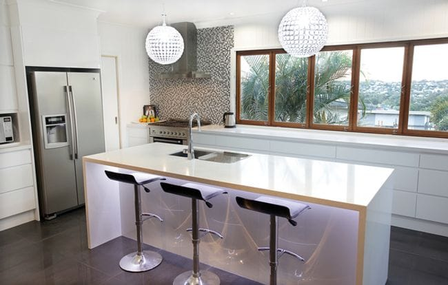 Kitchen Island With Breakfast Bar And Sink