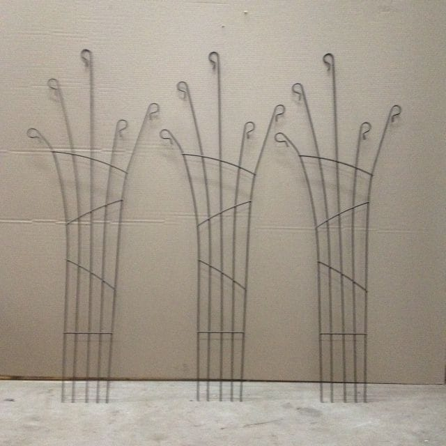 Rosebud Trellis - Set of 3