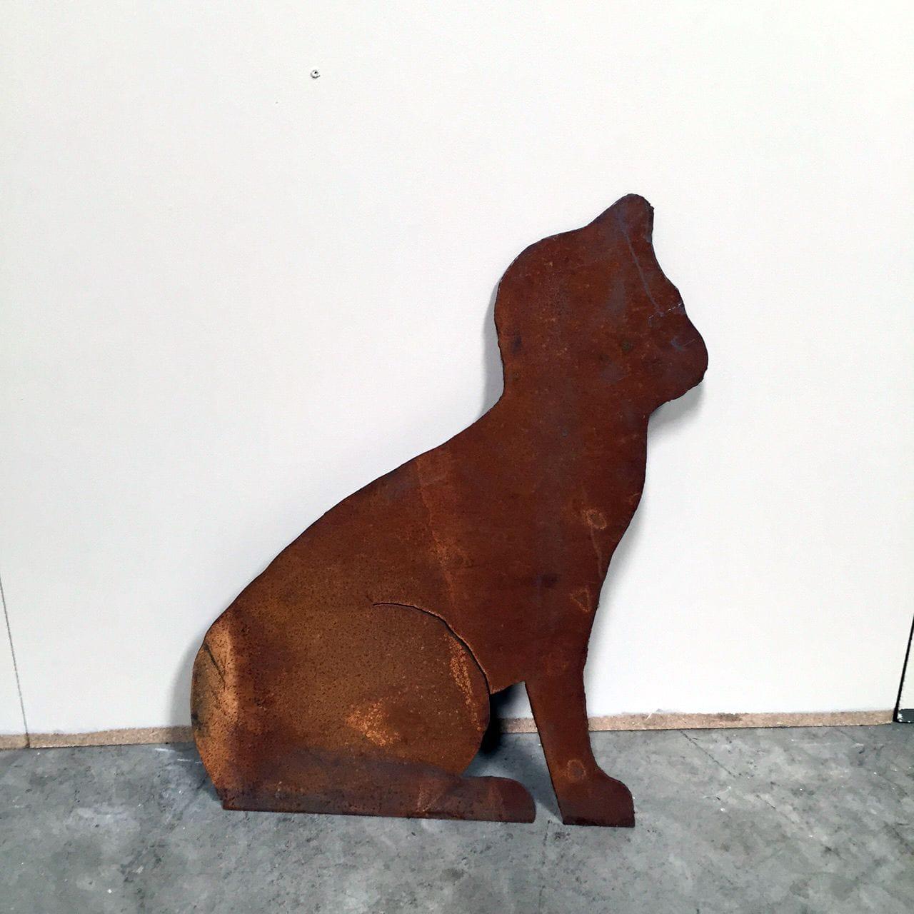 Garden Cat (Hand-cut)