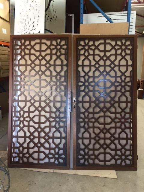 Moorish Pair of Screens (sample)