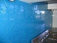 Textured Glass Splashback Ballina