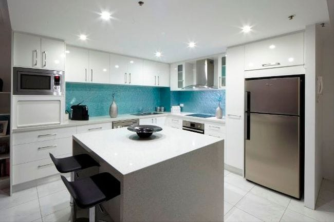 Image Result For White On White Dulux Kitchen