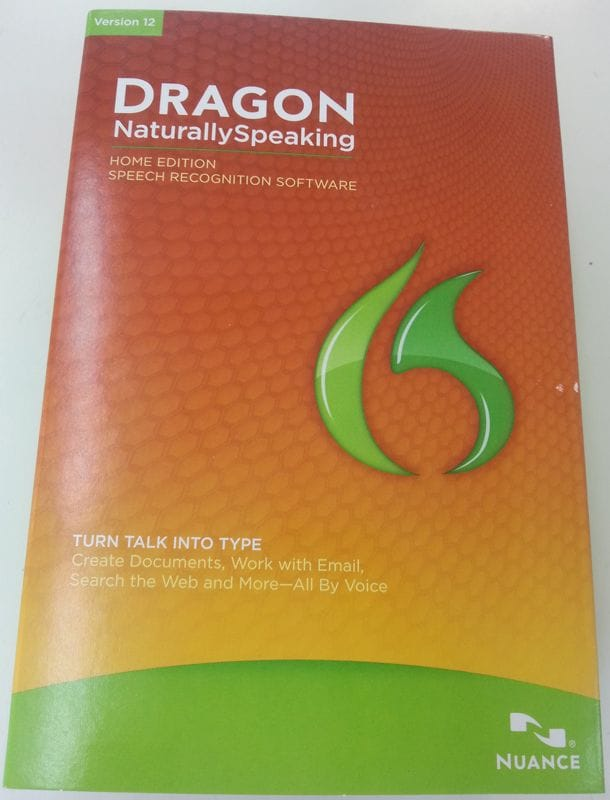 DRAGON Naturally Speaking Home Edition Version 12