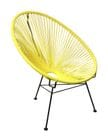 SCOOP CHAIR (Yellow)