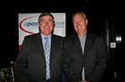Dicky with our Sponsor John Hicks - Owner Manger of BOQ Frankston
