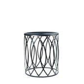 Martini Side Table - Pewter