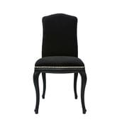 Antoinette Studded Chair - Black/Ebony