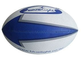 Blue Light Rugby Ball