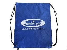 Blue Light Drawstring Bag
