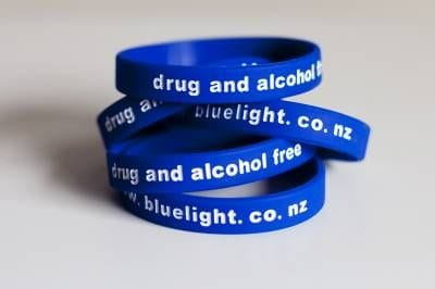Blue Light Wristbands - Pack of 100