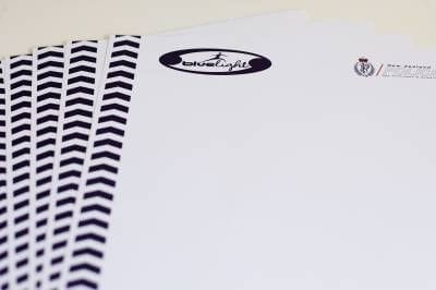 Blue Light Letterhead - Ream of 500