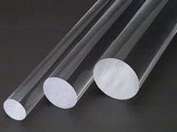 3mm x 1M long (10pcs) Acrylic Extruded Clear rod PMMA