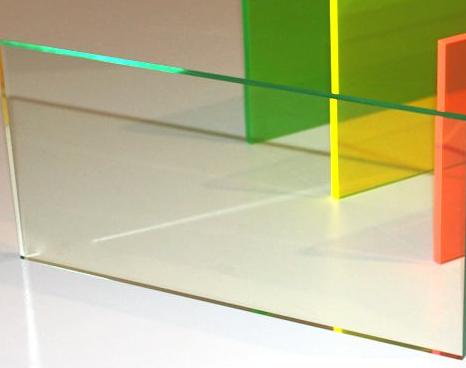 A3 Acrylic Glass Effect Tint Cast Sheet 420 x 297 x 3mm Glass Look