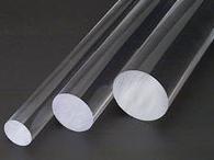 Acrylic Clear Rod Diameter 40mm x 1M Long
