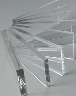 Acrylic Clear Cast Sheet 610 x 610 x 3mm thick Clear