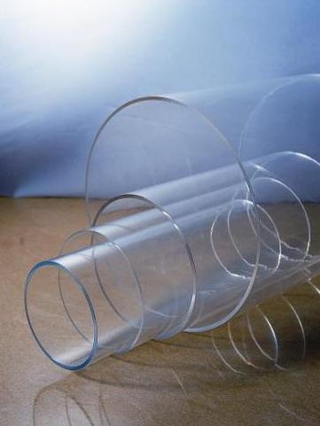 Acrylic Clear Tube Diameter 200mm x 3mm x 2M Long Clear Tubing.