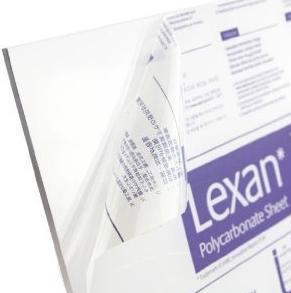 Lexan Polycarbonate Clear Sheet 1220 x 1220 x 4.5mm