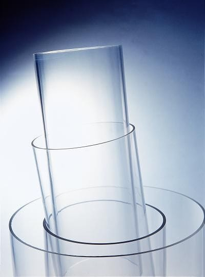Acrylic Clear CAST tube OD250mm x 5mm x 2M Long Crystal Clear Tubing