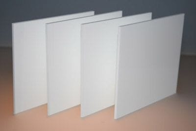 Acrylic Opal White Sheet 1000 x 1000 x 4.5mm Cell CAST White